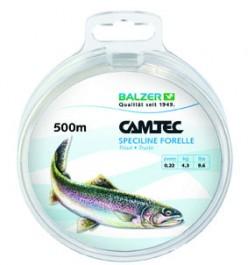 Balzer Camtec Speciline Forelle 500m 0.22mm - Monofile Schnur