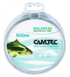 Balzer Camtec Speciline Karpfen 500m 0.25mm - Monofile Schnur
