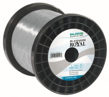 Balzer Platinum Royal Anti Reflex Beschichtung 7,0kg 0,25mm - Monofile Schnur