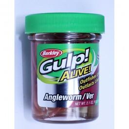 Berkley Gulp Angelworm Natural 60g - Futterimitate