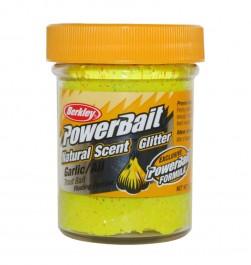 Berkley Powerbait Dough Natural Scent Garlic 50g yellow - Angelteige