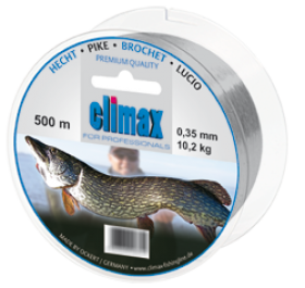 Climax Hecht 400m 0,30mm grau - Monofile Schnur