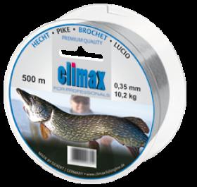 Climax Hecht 250m 0,40mm grau - Monofile Schnur