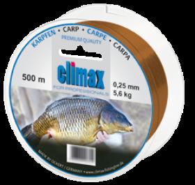 Climax Karpfen 500m 0,25mm kupfer - Monofile Schnur