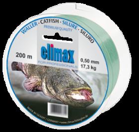 Climax Waller 200m 0,50mm grün - Monofile Schnur