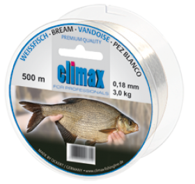 Climax Weissfisch 500m 0,15mm weiss - Monofile Schnur